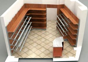 Arredamenti, attrezzature professionali e macchinari per negozi e locali food