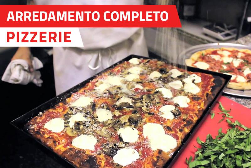 Offerta arredamento completo pizzerie pimpinella for Arredamento completo
