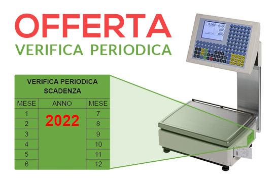 Bilancia con Bollino scaduto di Verifica Metrica CCIAA Camera di Commercio e Laboratori